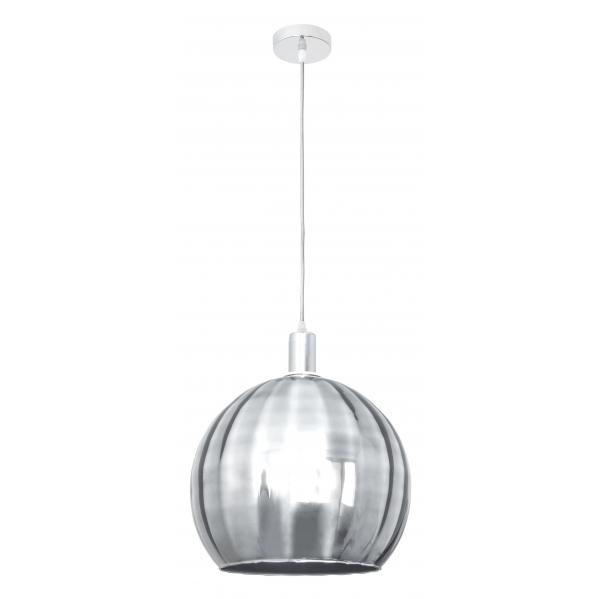 Colgante zamora cromo 1xe27 regx30d decoraci n con l mparas - Decoracion con lamparas ...