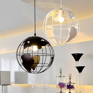 lampara colgante mundo
