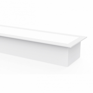 Regleta De Empotrar 20w 4000k Linex Blanco  1600lm 60x6