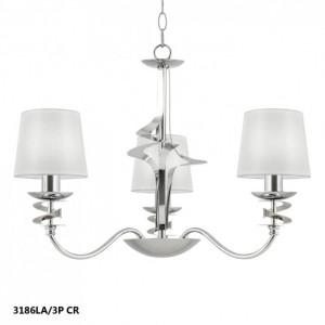 lampara de techo serie franca 3 luces