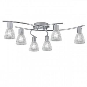 Lámpara plafón 6L Cheers cromo 6 X E-14