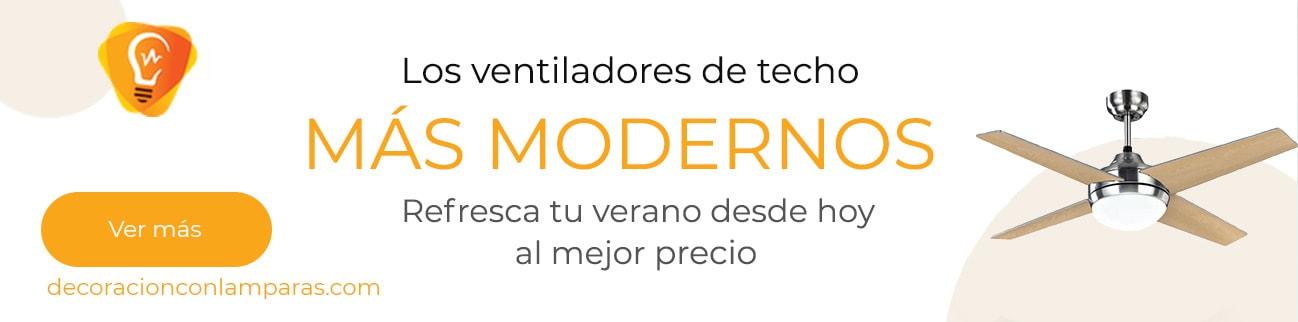 Los ventiladores de techo más modernos