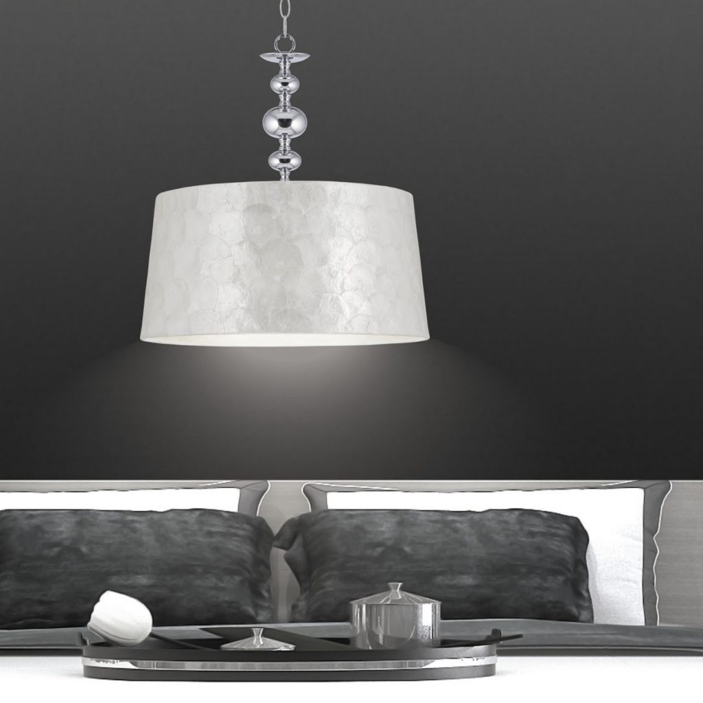 Lámpara colgante aurora para dormitorio y salón