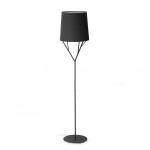 Tree Pie De Salon 1L E27 60W Negro