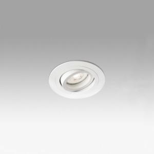 Radon Orientable Emp.Redondo Blanco Gu10/Mr16/Led