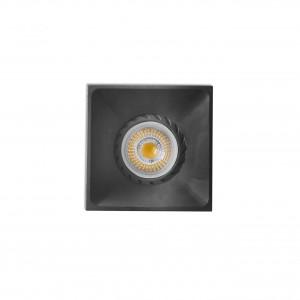 Neon Empotrable Cuadrado Negro 1Xgu10/Mr16/Led