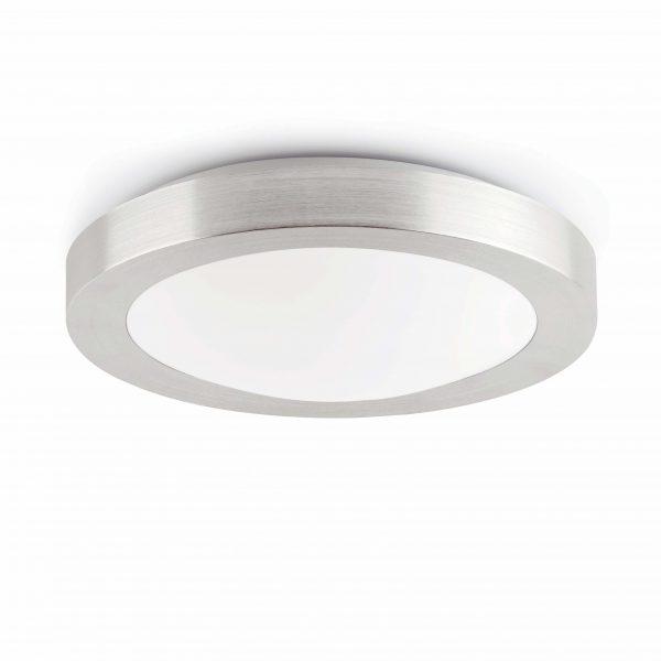 Logos-1  Plafon Aluminio Pulio  1 X E27 20W D270Mm