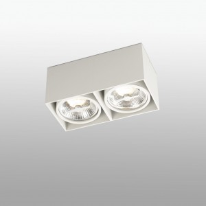 Tecto  Plafon Blanco 2Xar111 50W