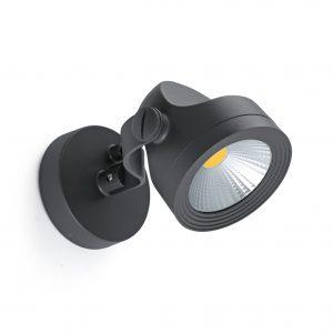 Alfa Proyector Gris Oscuro 15W 3000K