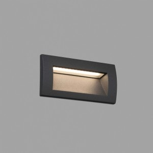 Sedna-2 Empotrable Gris Smd Led 3W 3000K