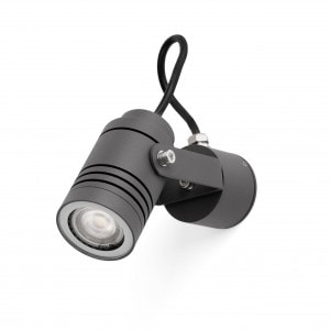 Lit Proyector Gris Oscuro Gu10