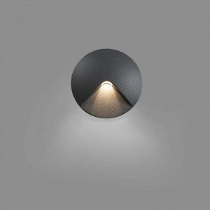 Uve Empotrable Gris Oscuro Led 2W 3000K