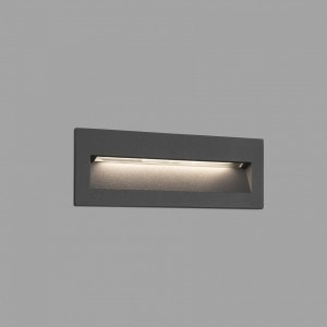 Nat Empotrable Gris Oscuro Led 8W 3000K