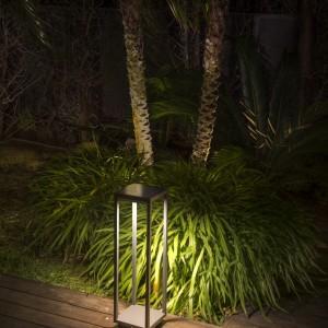 Saura Baliza Solar Con Sensor Pir