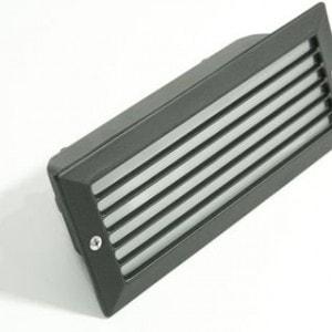 Esca Empotrable Negro 1L E27 40W