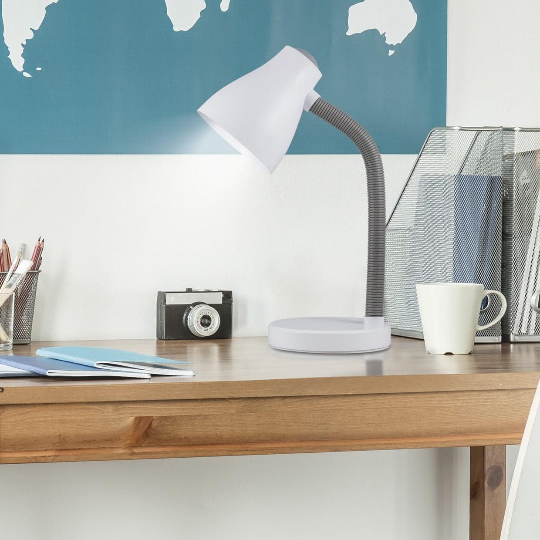 lámparas de lectura tipo flexo con pinza
