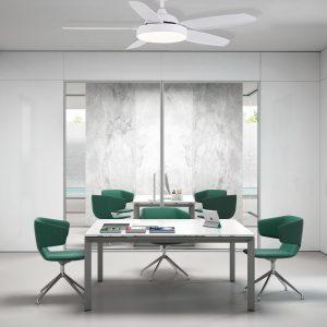 Ventilador de techo Mistral Blanco mate