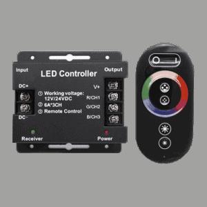 Controlador Táctil + Mando Rf