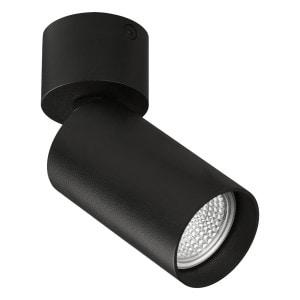 Plafón Zoom Negro Texturado 1X10W LED GU10
