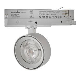 Mako 3843/9 Track Light Blanco Texturado
