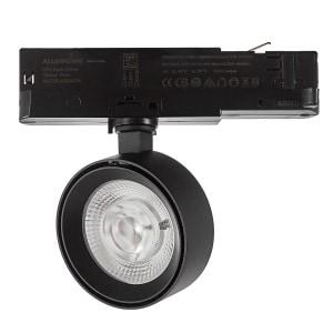 Mako 3843/9 Track Light Negro Texturado