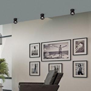 Plafón Apex Negro Texturado 1X13W LED COB