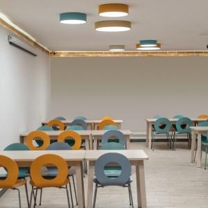 Plafón Isia Oro Técnico 1X150W LED