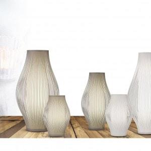Lámpara de mesa Mirta Blanco 1X20W E27