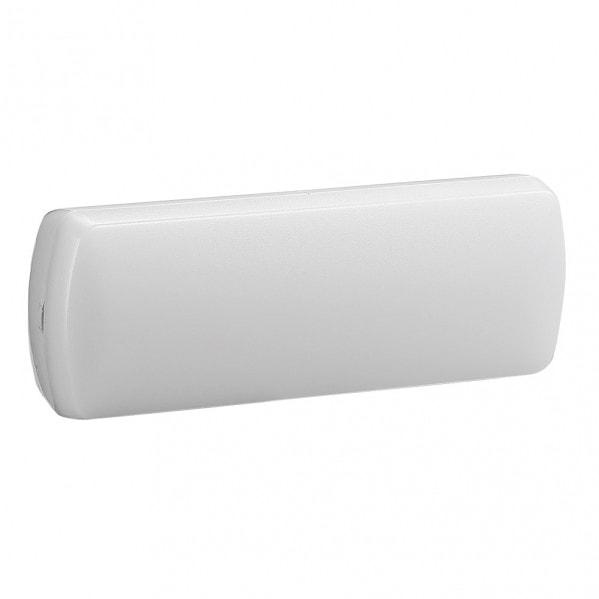 Luz Emergencia Chalupas 3w 6500k Bater.3 H Blanco 25x9x5 Cm 150lm Facil Selec.permanencia