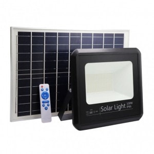 Proyector Solar Malaquita 100w 6500k Negro 9000lm (28