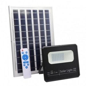 Proyector Solar Malaquita 20w 6500k Negro 1800lm (19