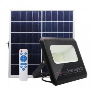 Proyector Solar Malaquita 40w 6500k Negro 3600lm (20